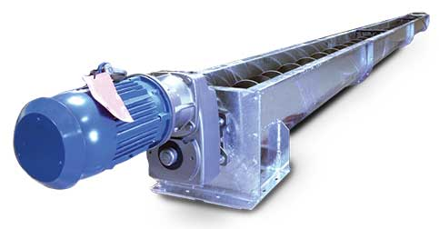 feeder screws and conveyors