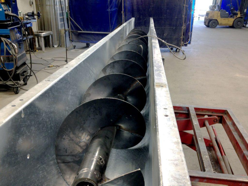 feeder screws and screw conveyors